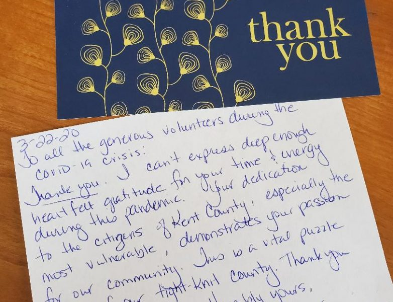 thank you note from county administrator